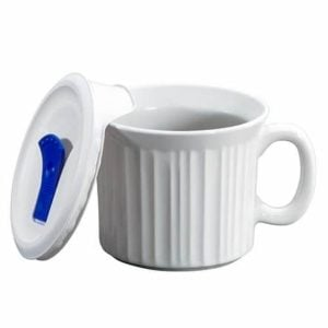 Corningware® French White 20-ounce Meal Mug™ with Lid