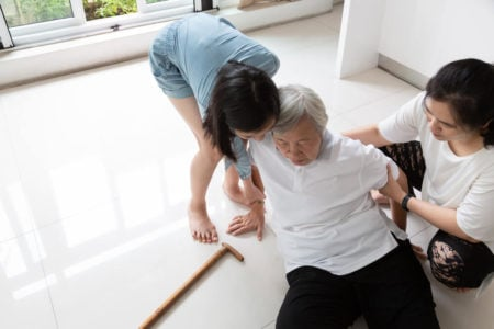 what to do when the elderly keep falling