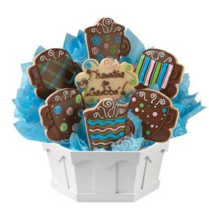 Express O'Latte Thanks Cookie Bouquet | Cookies by Design