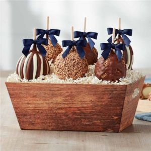 Woodsy Caramel Apple Gift Tray | Mrs Prindables