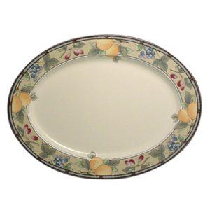 Garden Harvest 15 Inch Oval Platter– Mikasa