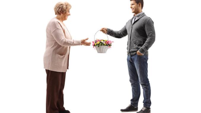 gift basket ideas for senior citizens
