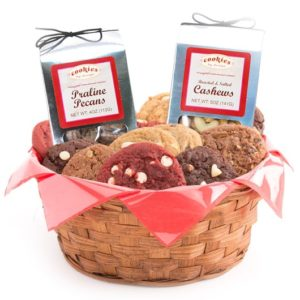 Gourmet Cookie Basket - One Dozen | Cookies by Design
