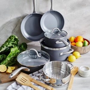 Greenpan Lima Ceramic Nonstick 12-Piece Cookware Set