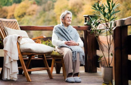 heated slippers for the elderly