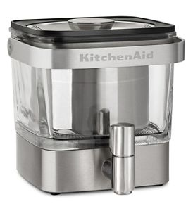 Brushed Stainless Steel Cold Brew Coffee Maker | KitchenAid