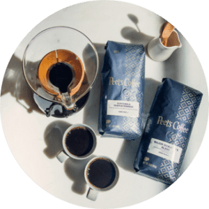coffee subscription from Peets Coffee