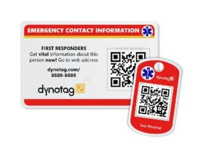 Dynotag SuperAlert Medical ID Tags | Dynotag