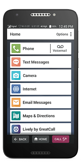 Jitterbug Smart2 Smartphone for Seniors | GreatCall