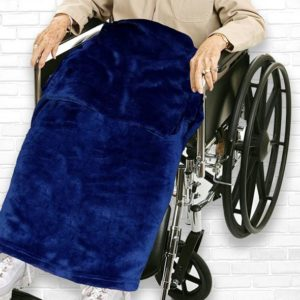 Classy Pal Adult Wheelchair Blanket with Pocket