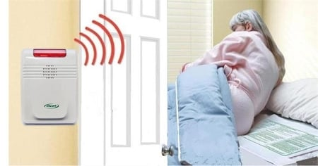 Smart Caregiver Cordless Alarm and Bed Pad | Caregiver Products