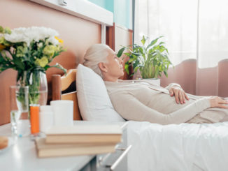 falling out of bed in a nursing home
