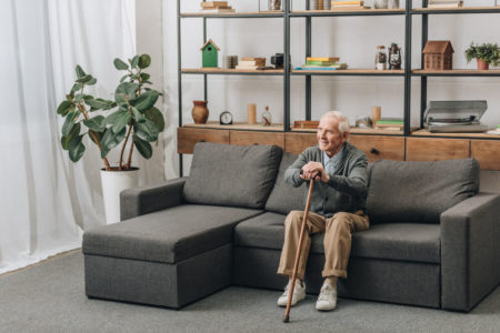 how to prevent falls in the living room