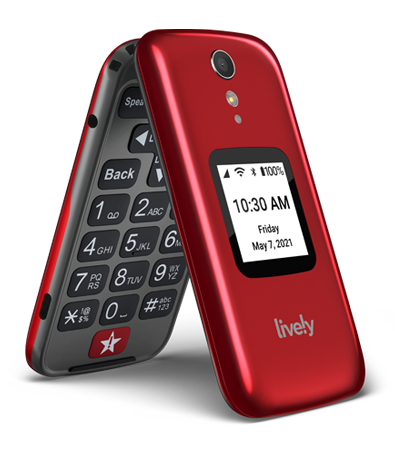 Jitterbug Flip Phone from from Lively