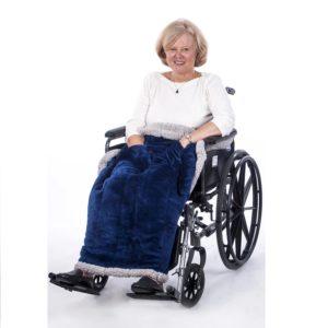 Granny Jo Heavyweight Fleece Lap Blanket