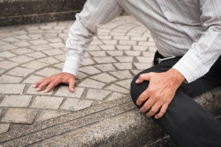 what to do after a fall on concrete