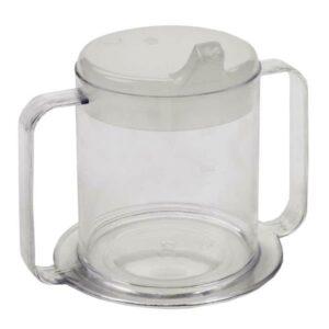 Independence 2-Handle Plastic Mug
