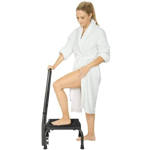 Vive Step Stool with Handrail