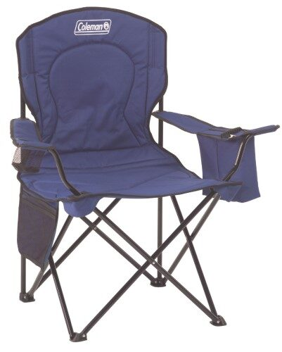 3. Coleman Quad Beach Chair With Cooler