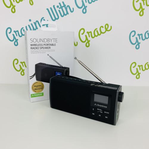 Avantree Soundbyte 860s Multi-Function Portable Radio