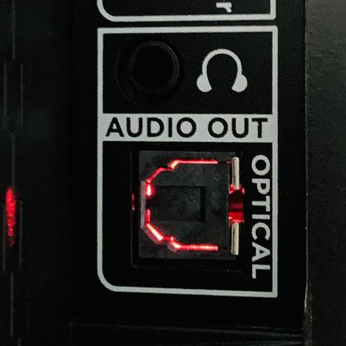 audio headphone out port