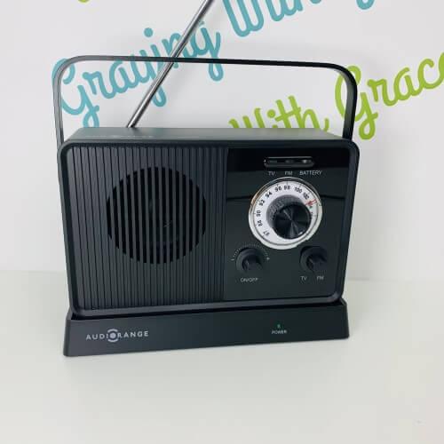 Audio Range Wireless TV Speaker & FM Radio (SPK-1000FM)