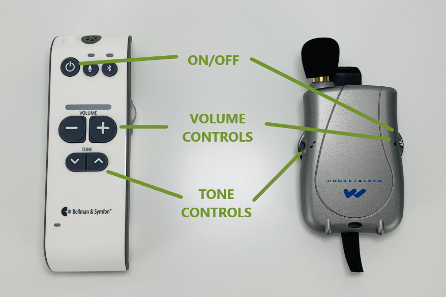 control comparisons maxi pro pocketalker ultra