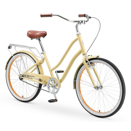 Sixthreezero EvryJourney Step-Through Beach Cruiser Bike