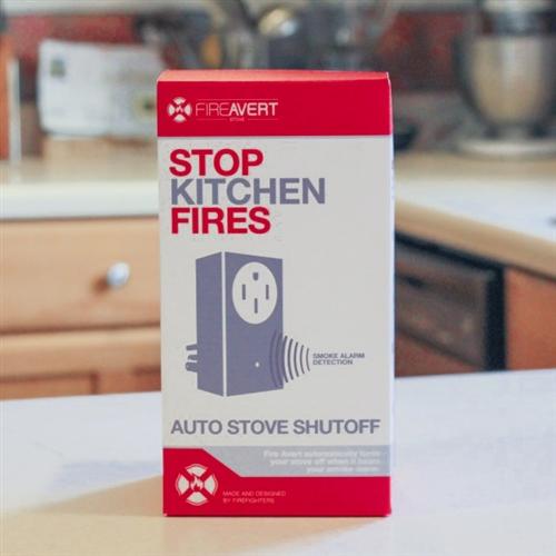 1. FireAvert Stove Fire Prevention Lock