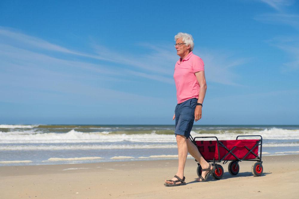 senior-man-beach-cart
