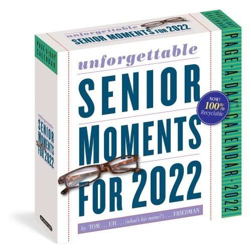 Unforgettable Senior Moments Desk Calendar