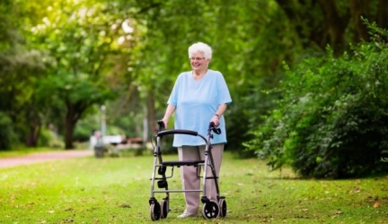 Bariatric Rollator Walker with Seat: Mobility Help for Larger Seniors