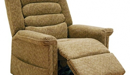 Catnapper Soother Power Lift Full Lay-Out Chaise Recliner Chair