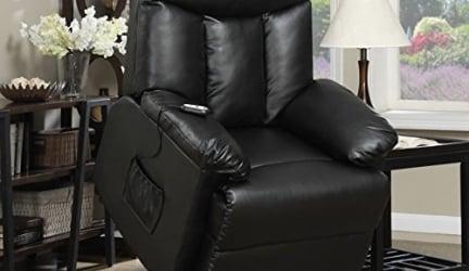 ProLounger Lya Power Recline and Lift Wall Hugger Chair